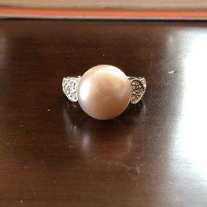 Pearl and Topaz Ring